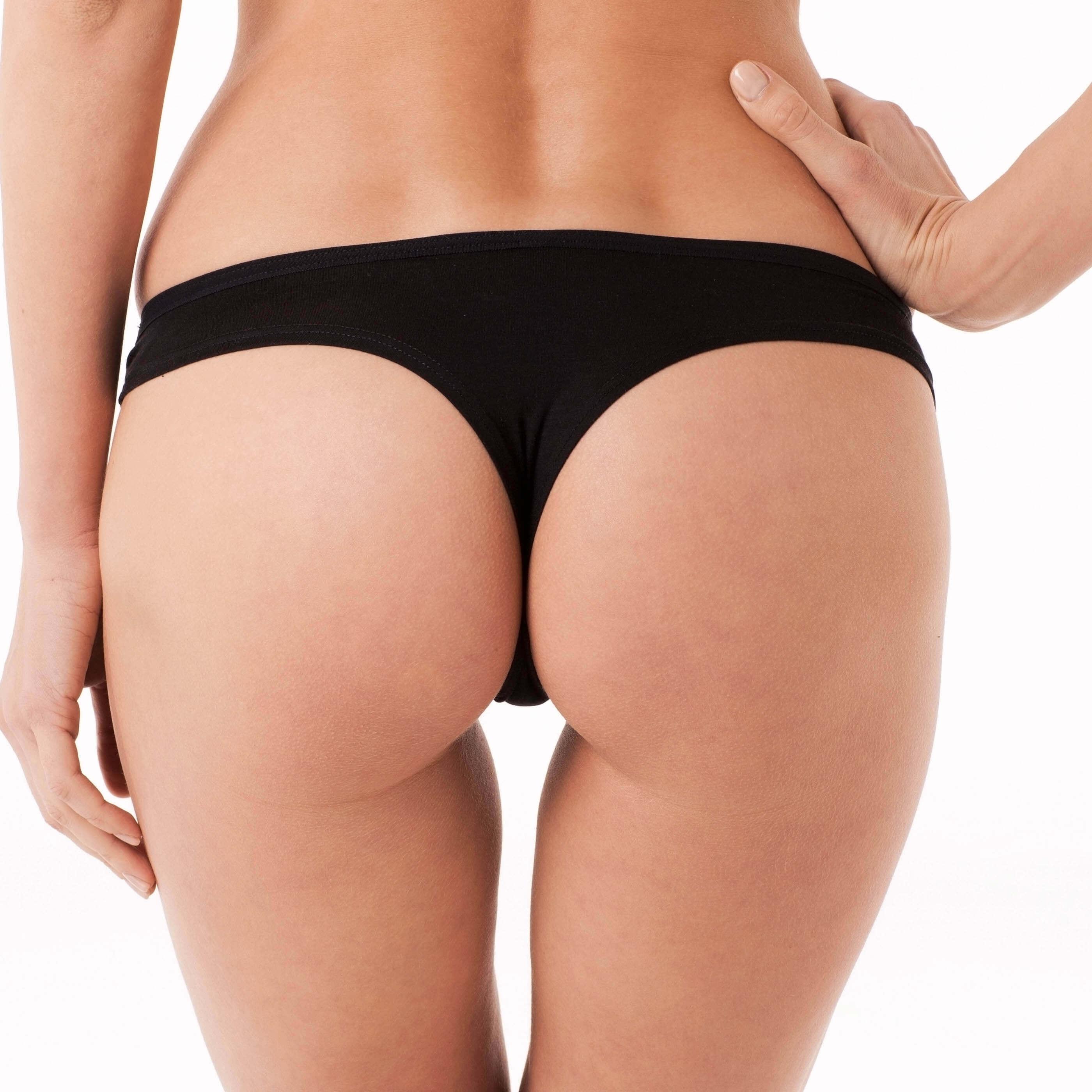bikini black bottom